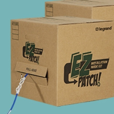EZ Patch packaging from Legrand