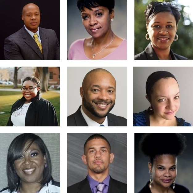 Grid of headshots of black professionals