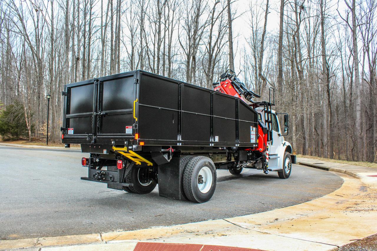 2019 Freightliner M2106 4x2 FASSI F145AZ.0.22 Loader/Grapple Truck