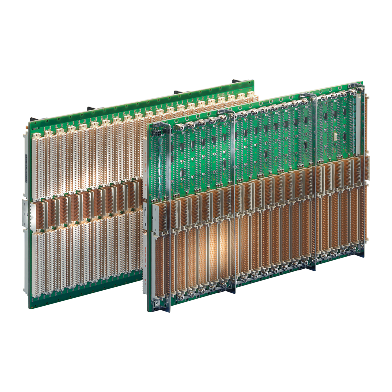 Image for VME64 extension backplanes from Schroff - North America