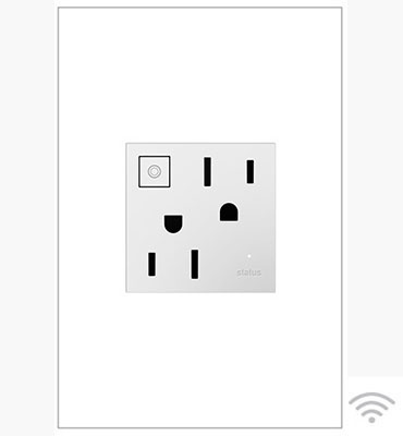 Wi-Fi Ready Outlet, White