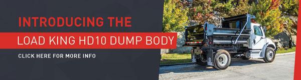 Introducing the Load King HD10DB Dump Body!