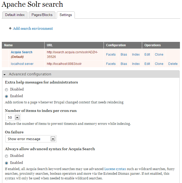 Exact phrase searching — Acquia Product Documentation