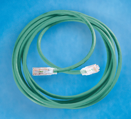 Clarity 6 Modular Patch Cord, 7', green, OR-MC607-05