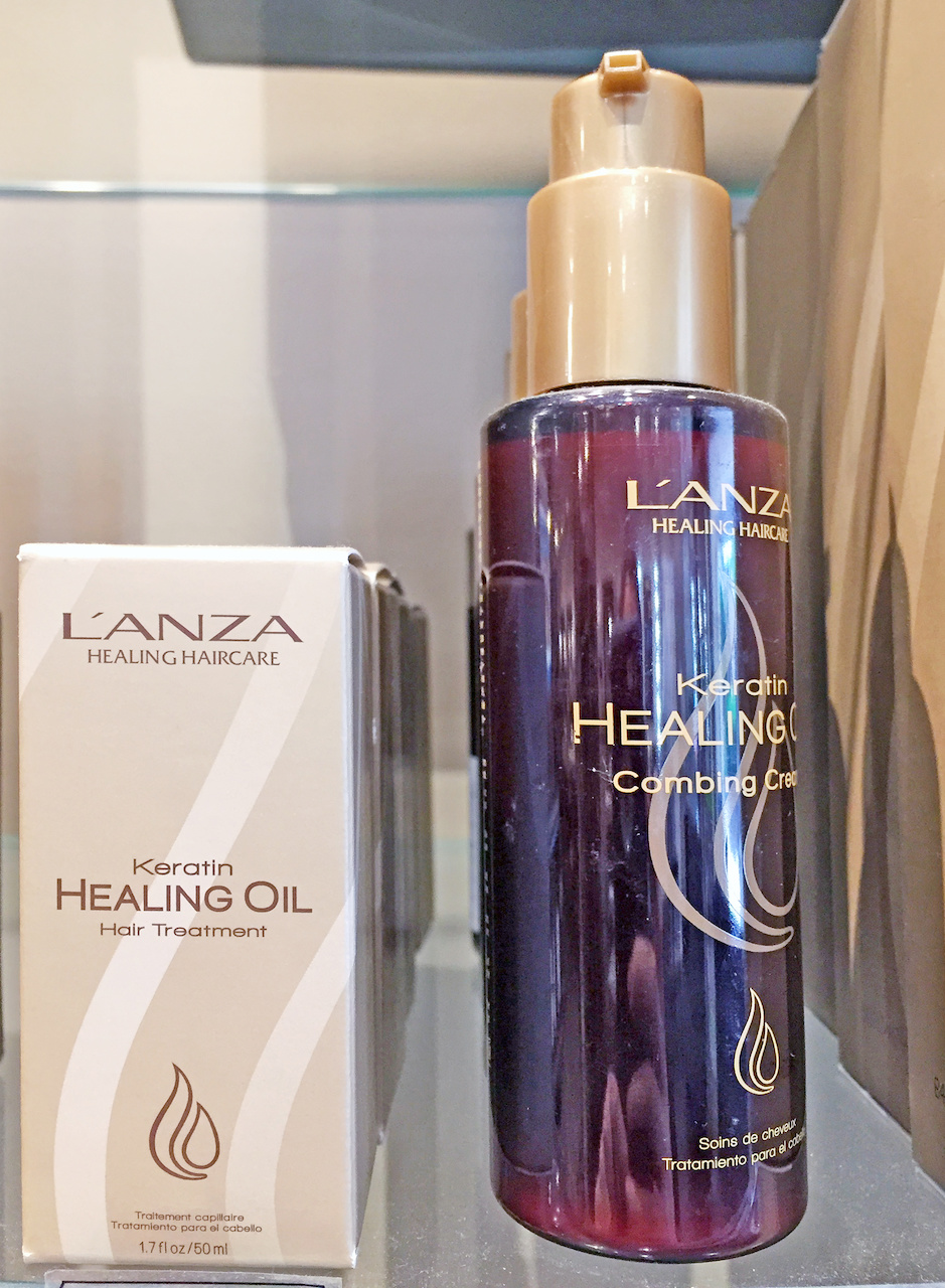 Healing oil for hair -- July FINDS