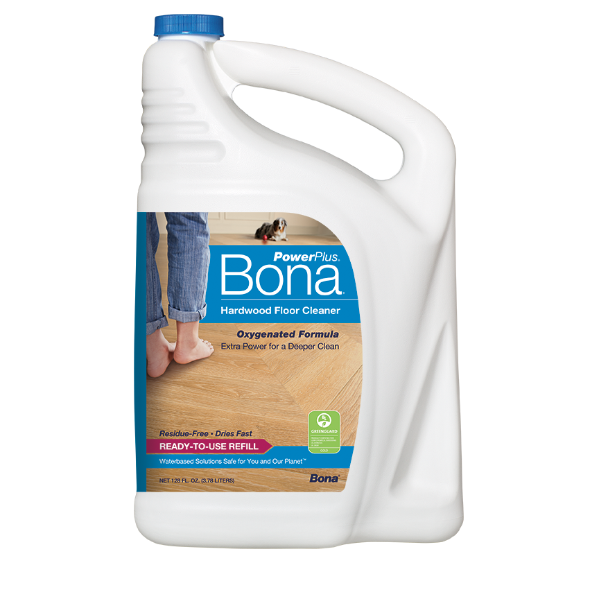 Bona PowerPlus® Hardwood Floor Deep Cleaner Refill (160 Oz