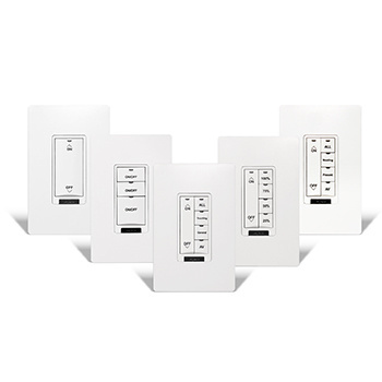 Pre-Engraved Switches and Dimmers for Digital Lighting Management