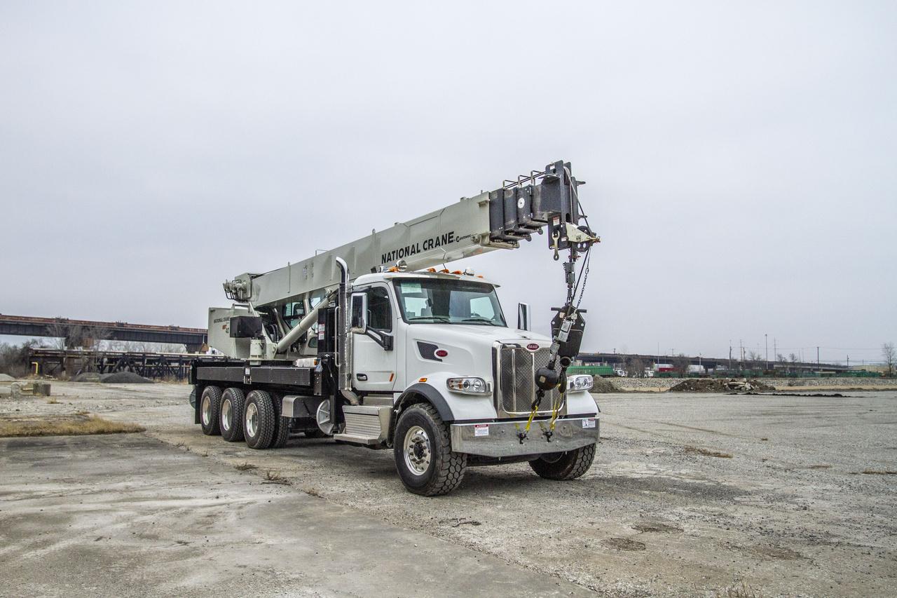2019 Peterbilt 567 8x6 National NBT40127 Boom Truck