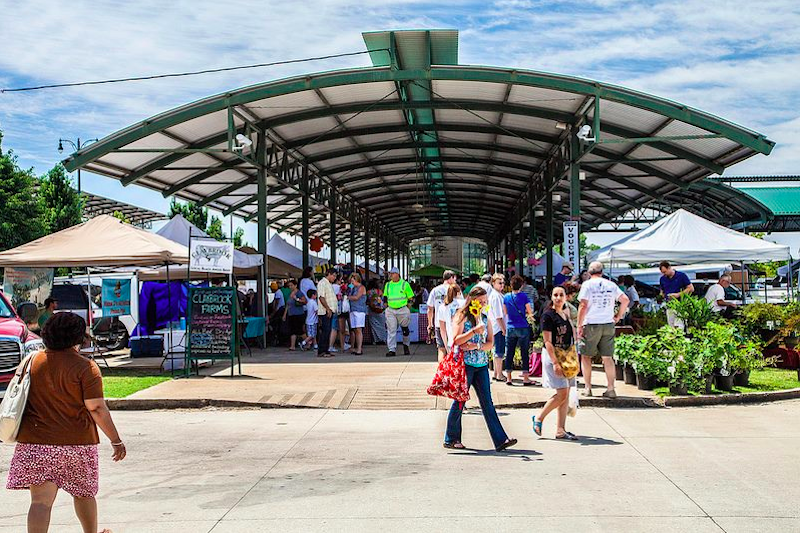 "The Memphis Farmers Market takes place every Saturday from 7 a.m. to 1 p.m. at Central Station downtown. Image| <a href=""http://SB-Memphis-FarmersMarketFinds-MFM.png https://www.facebook.com/42199685052/photos/?tab=album&album_id=10150645117965053"">MFM Facebook</a>"
