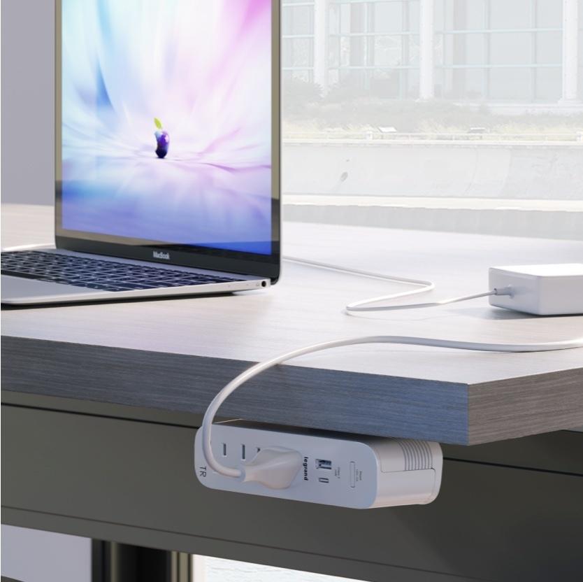 Modpower under work desk