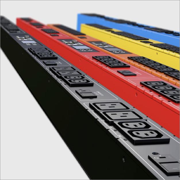 Raritan PDUs in different color options