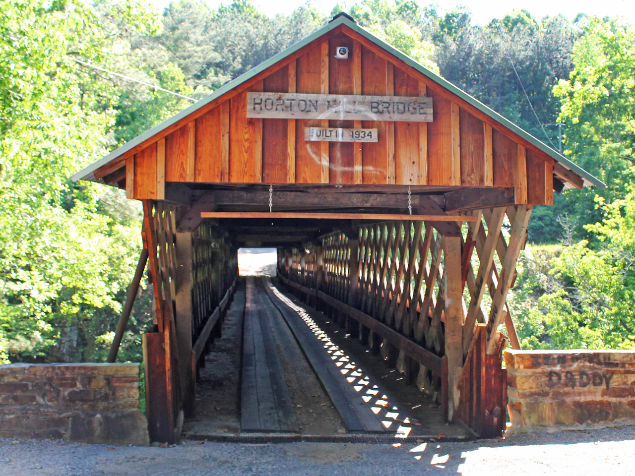 Foreman Zelma C. Tidwell was instrumental in the constrution of three other historic bridges in Blount County — Easley, Nectar and Swann.