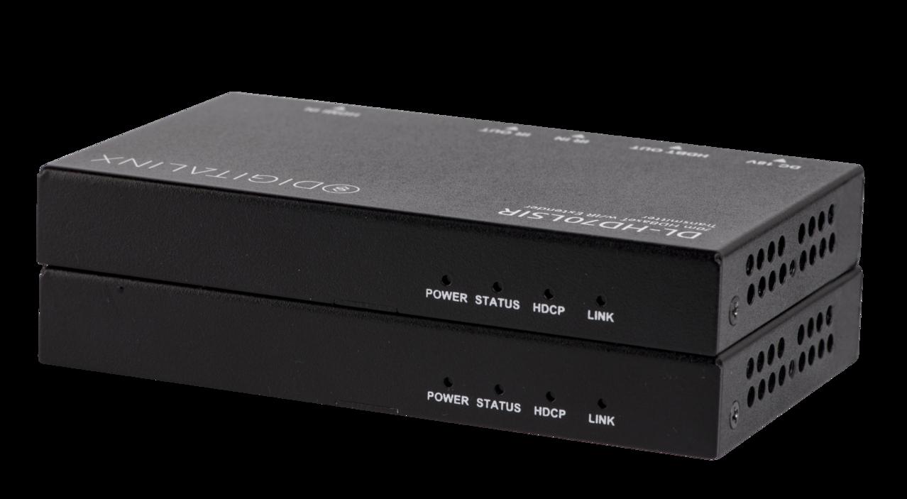 DL-HD70LSIR - HDMI HDBaseT 70m extender set with IR