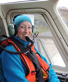 Katie Luxa, The Steller Sea lion aerial survey team.