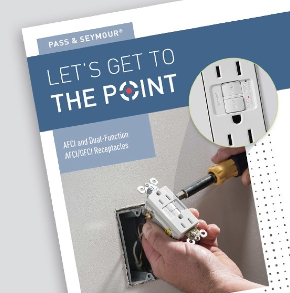 Page of resource for Pass & Seymour Dual Function AFCI/GFCI Receptacles