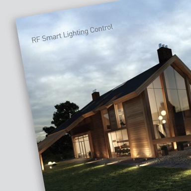 cover of Legrand RF smart lighting control brochure