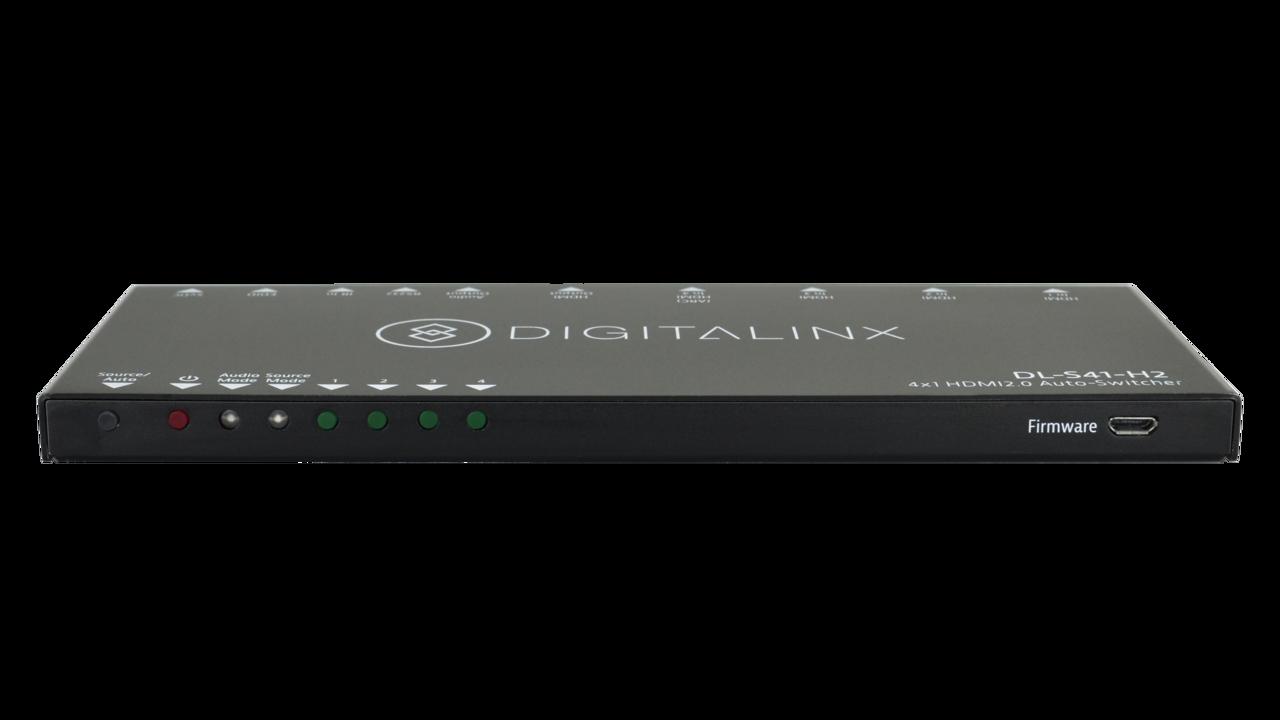 DL-S41-H2 - 4x1 18G HDMI 2.0 Auto-Switcher