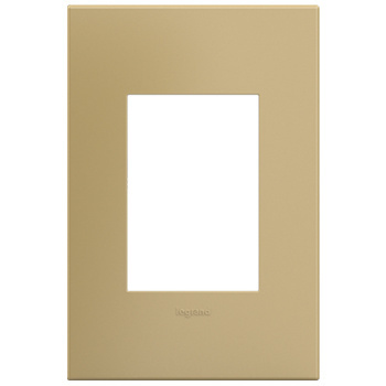 adorne 1-Gang+ Golden Sands Wall Plate