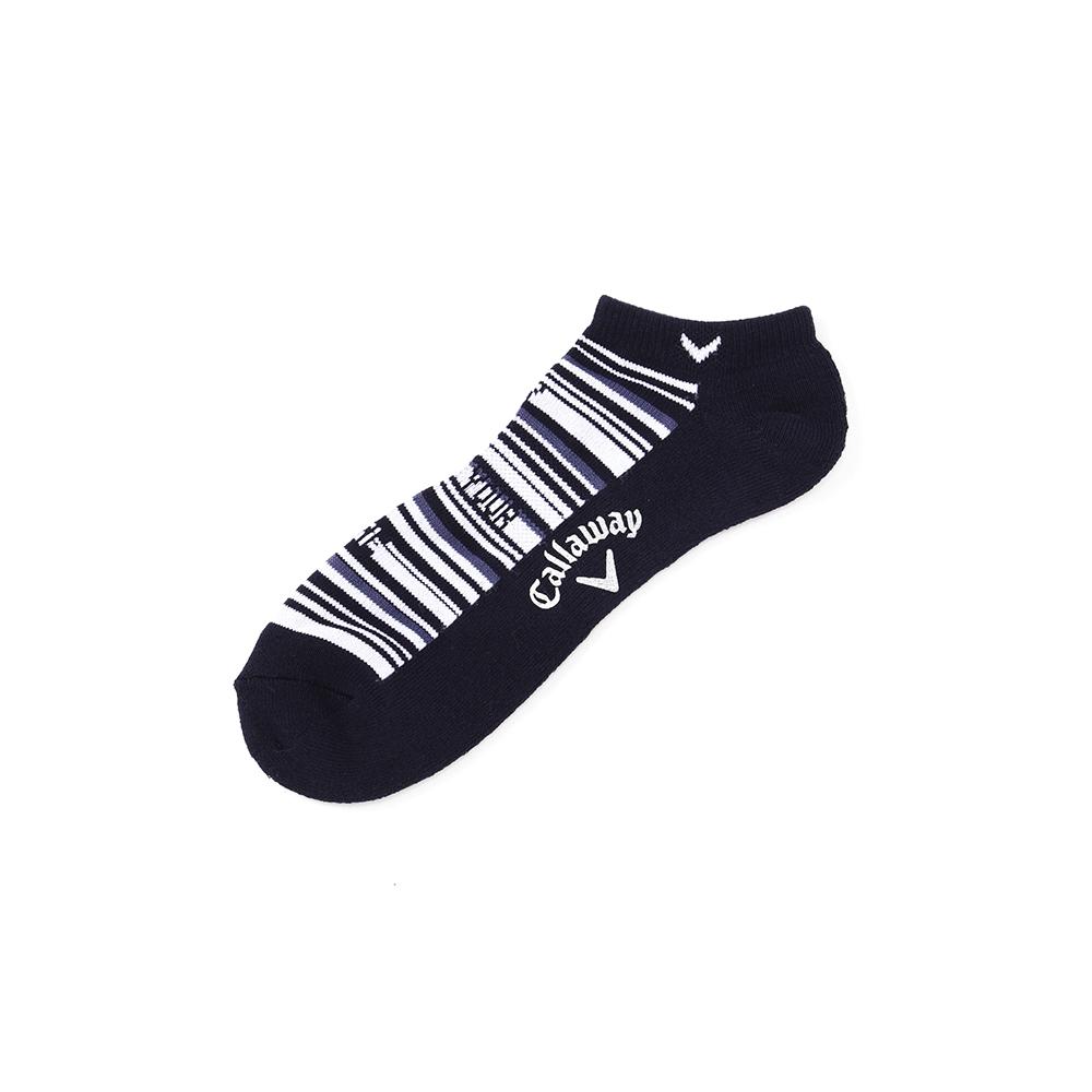 CALLAWAY 【オンラインストア限定サイズ】ラインアンクルソックス(MENS) 27cm~29cm