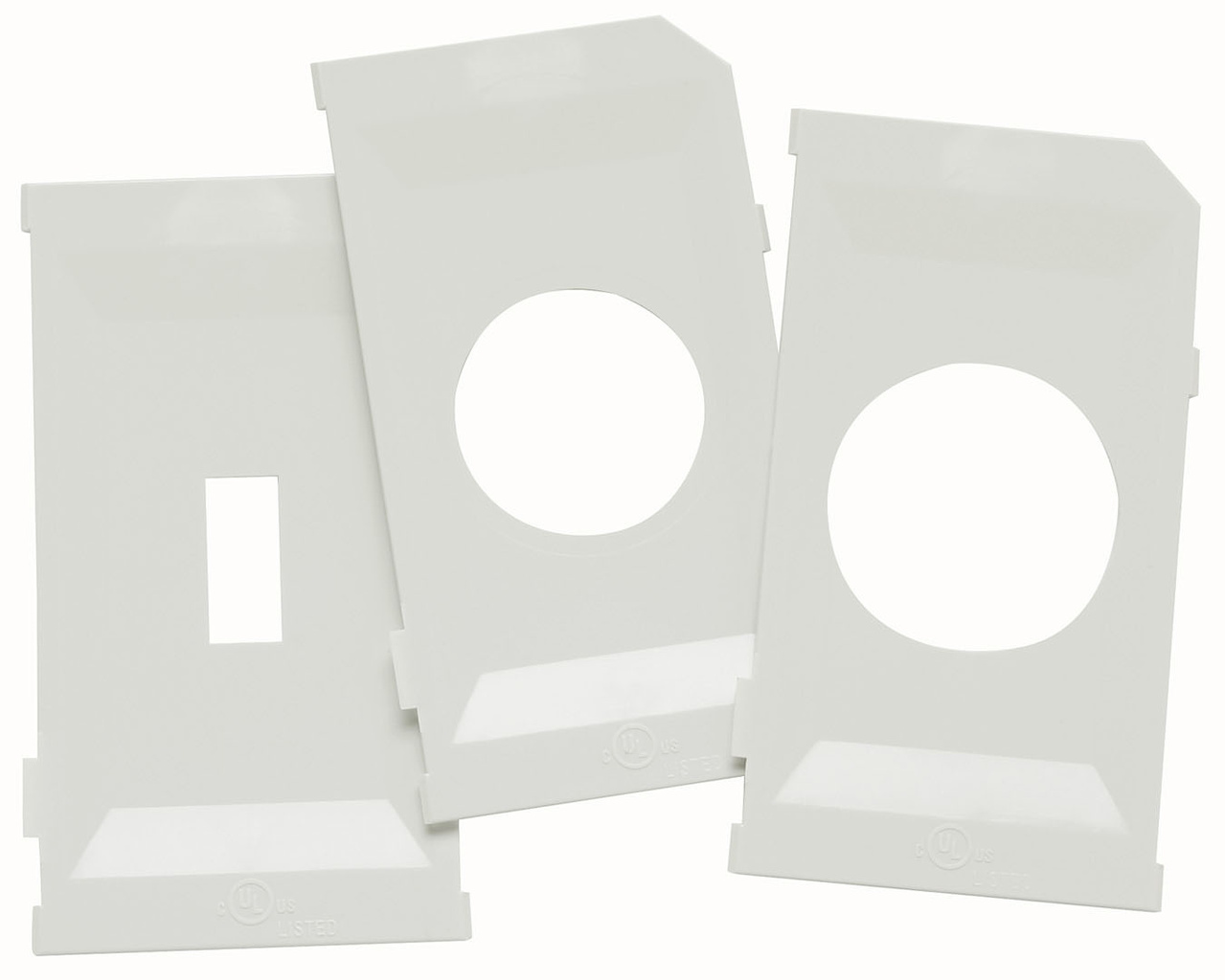 While-In-Use Cover Extra Plate Kit, White