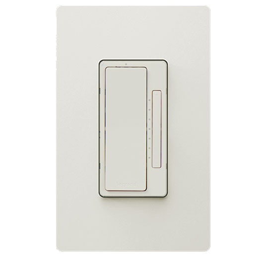 In-Wall Tru-Universal RF Dimmer, Light Almond