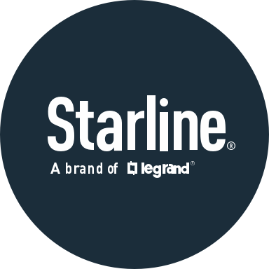 Starline a brand of Legrand brand logo