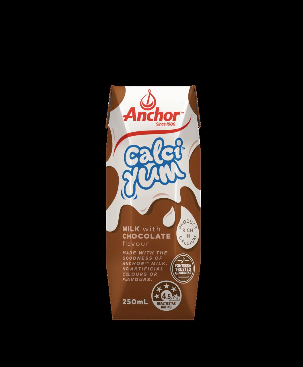 Anchor CalciYum Chocolate Milk 250mL pack