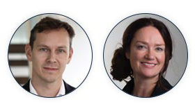Nicholas Cumins, Chief Product Officer, and Katriona Lord-Levins, Chief Success Officer