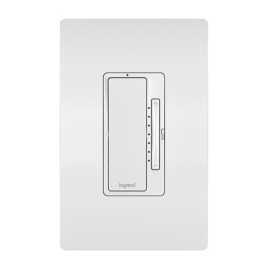 In-Wall Tru-Universal RF Dimmer, White