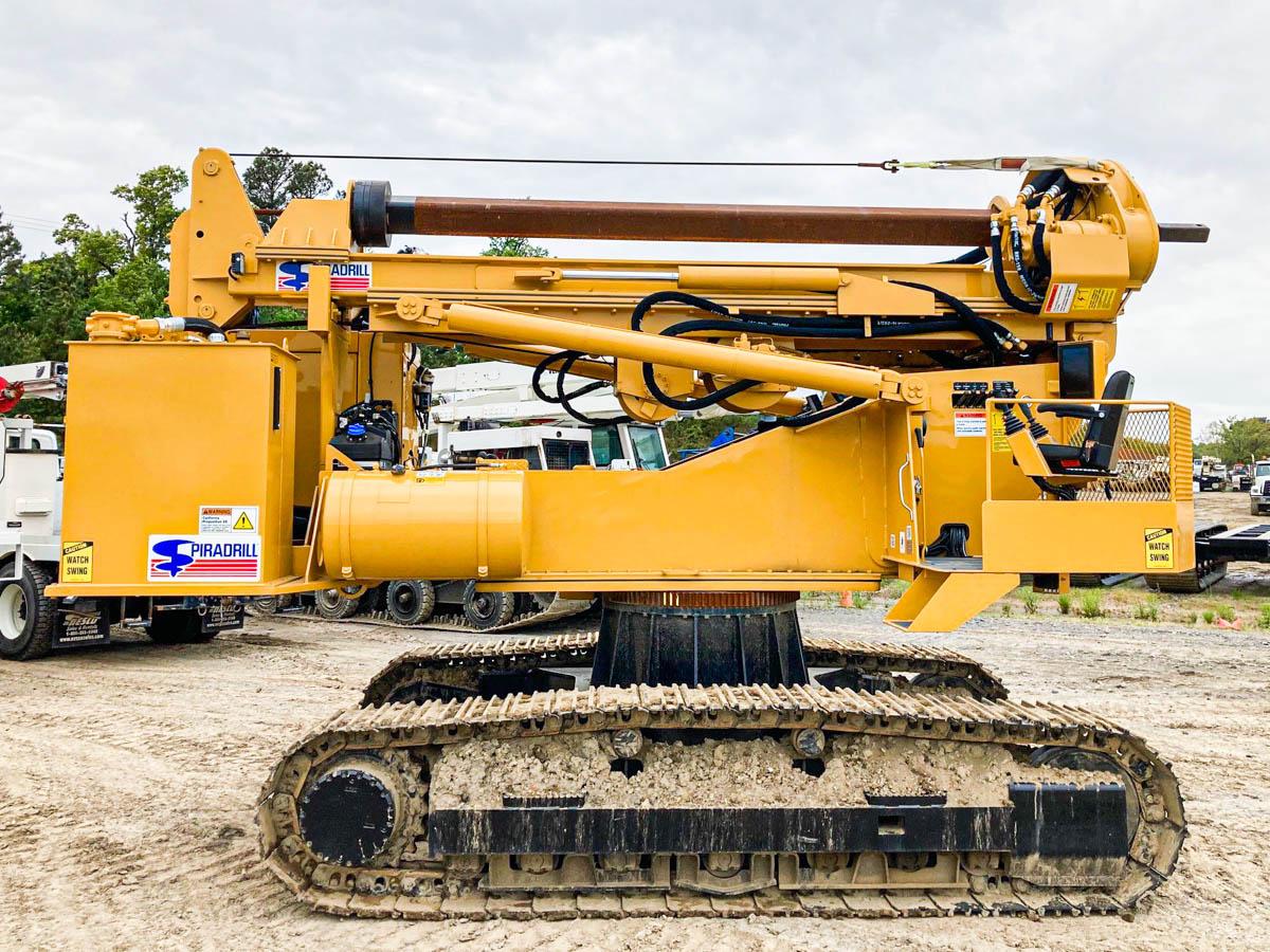 Spiradrill LHD-35 Pressure Digger on 2019 Caterpillar 315