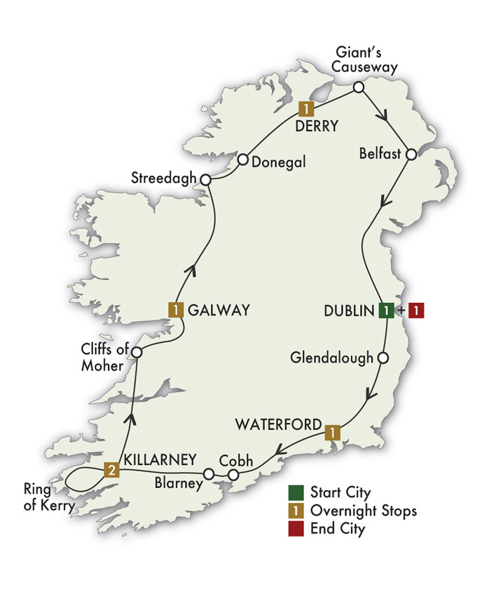2021 Irish Adventure - 8 Days/7 Nights