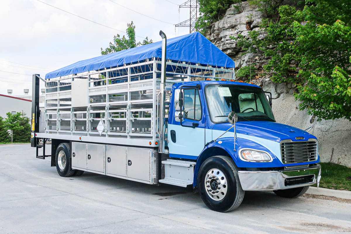 Load King ALTURNINM3 Propane Cyl. Delivery on 2020 Freightliner M2106 4x2