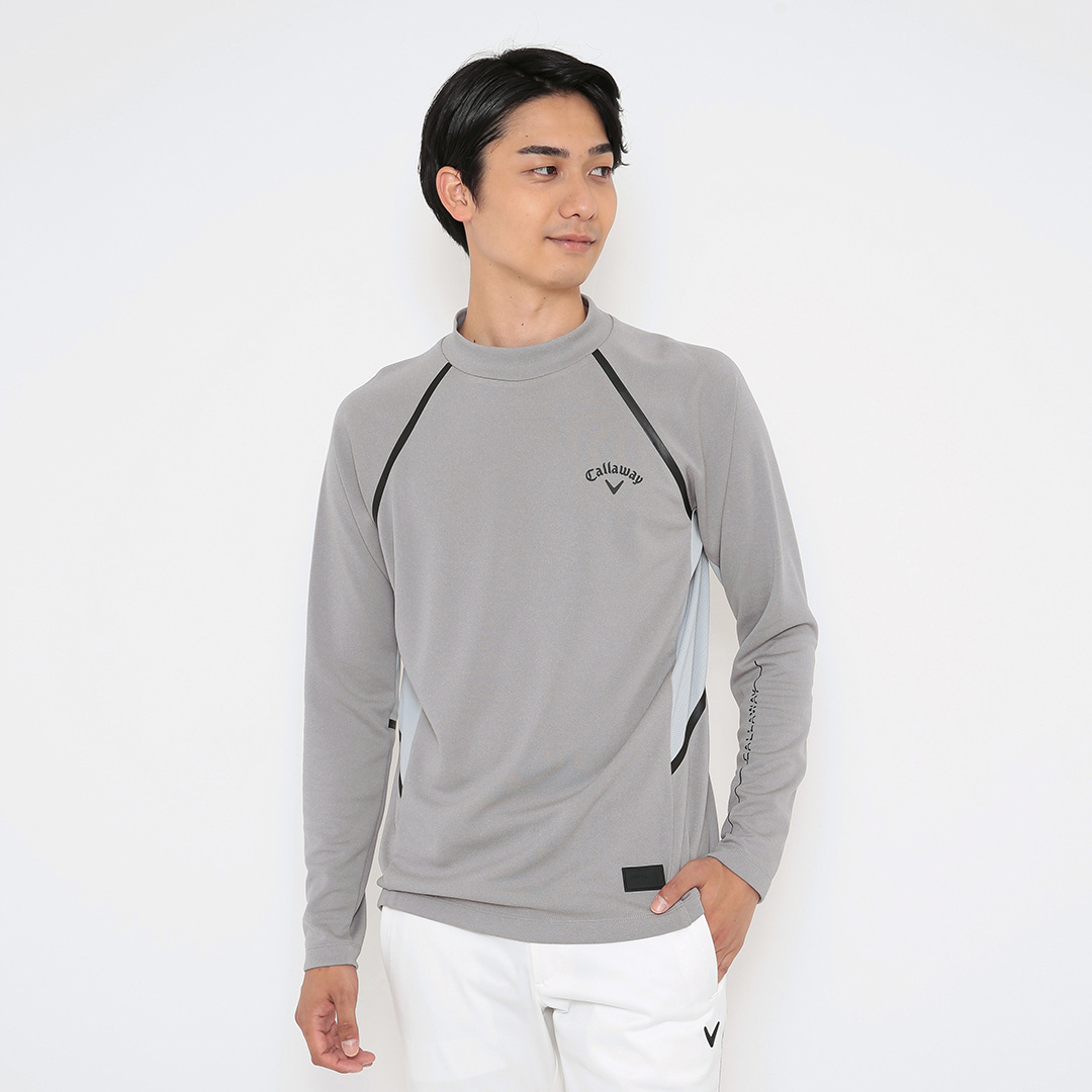 CALLAWAY  ストレッチスムース モックネックシャツ (MENS)