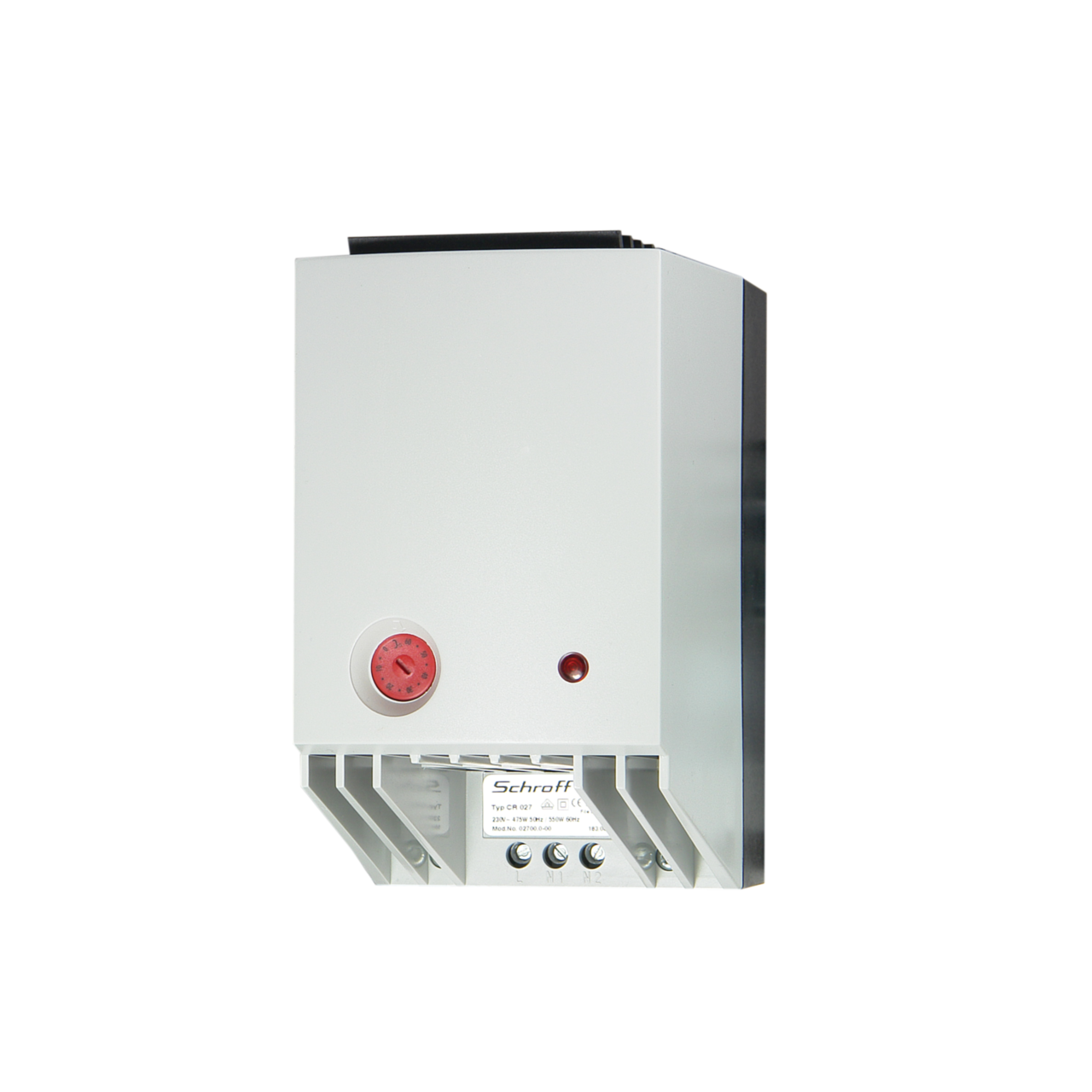 Imagen para Heater 475/550 W with thermostat and fan de Schroff - Norteamérica