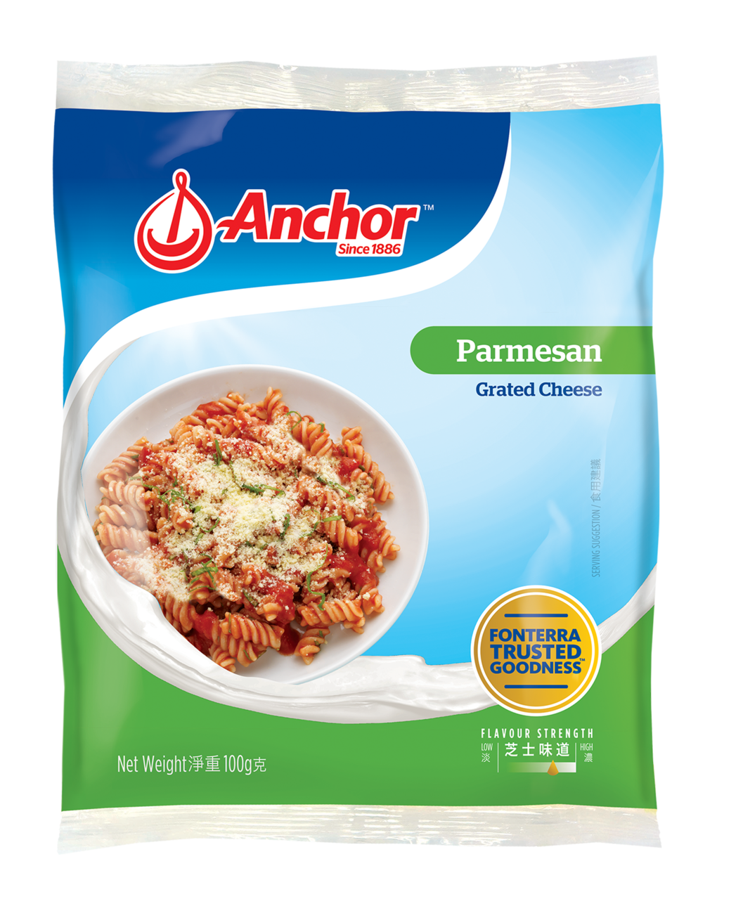Anchor Grated Parmesan 100g