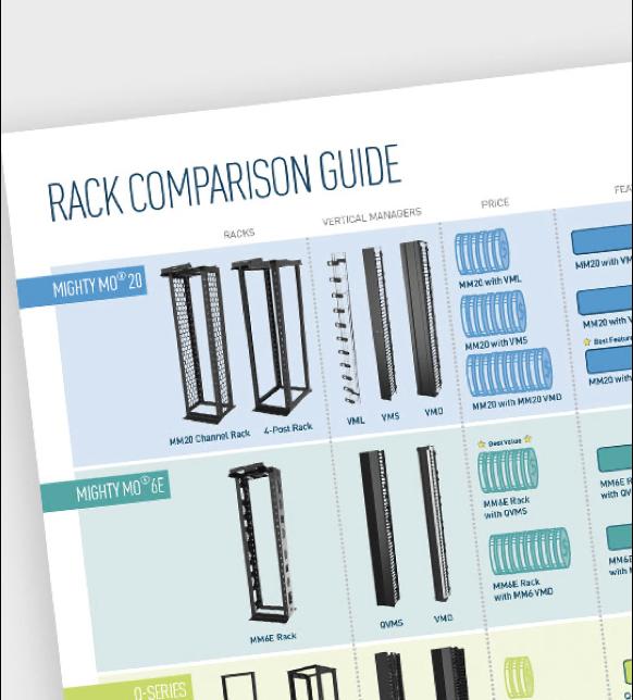 Rack Comparison Sheet