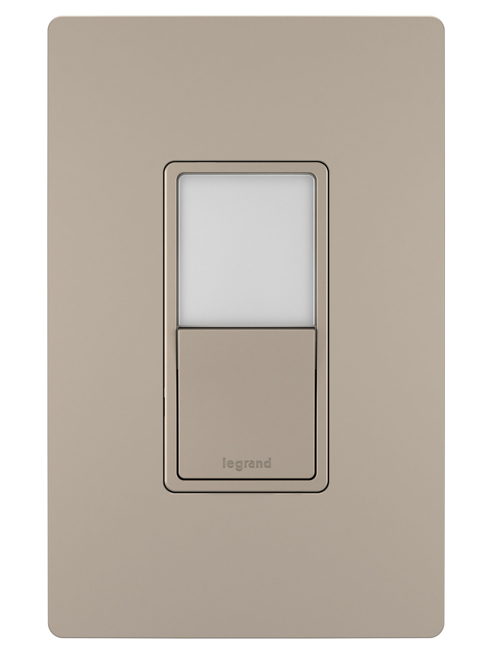 Night Light with Single-Pole, 3-Way Switch, Nickel