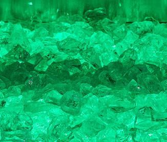 Emerald Green Light