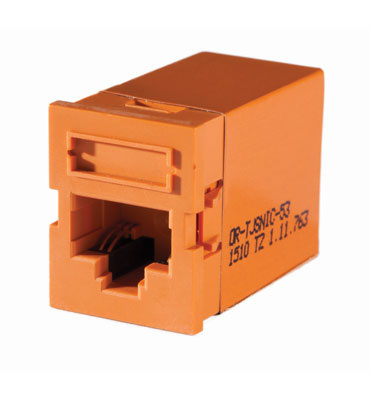 Clarity SNAP Inline Coupler TracJack, Orange - OR-TJSNIC-53
