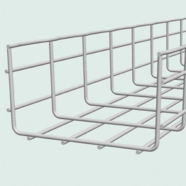 3D model of open cablofil cable tray