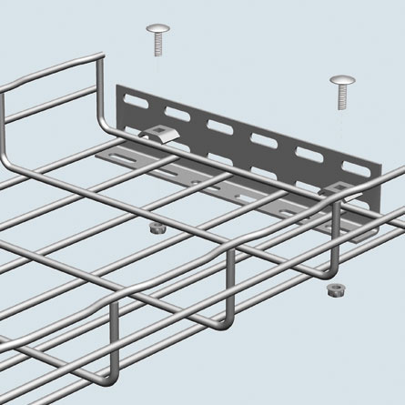 Wall/Floor Termination Bracket, HB 2 KIT