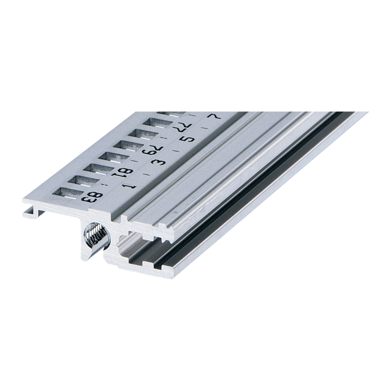 Imagen para Horizontal rail, rear, type L-VT, light, recessed installation de Schroff - Norteamérica