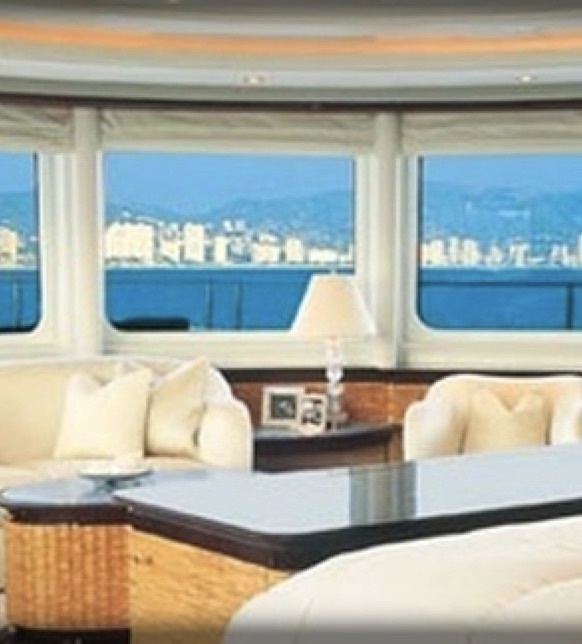Yacht living room