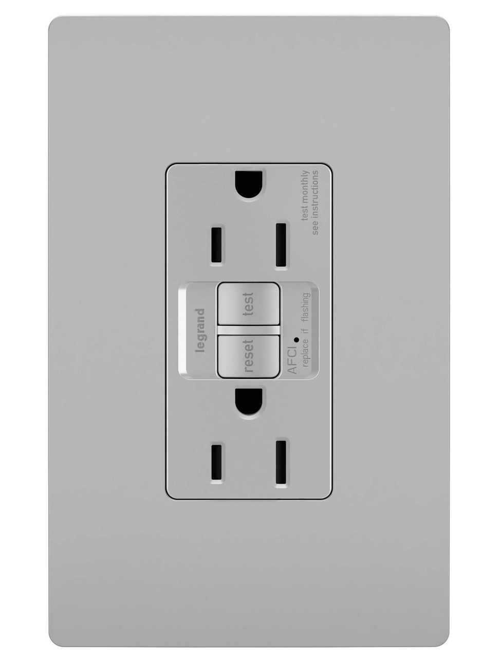 Light Switch Home Wiring Diagram Afci Schematics Gfci And Electrical Radiant Dual Function Tamper Resistant Receptacle Gray Basic Diagrams