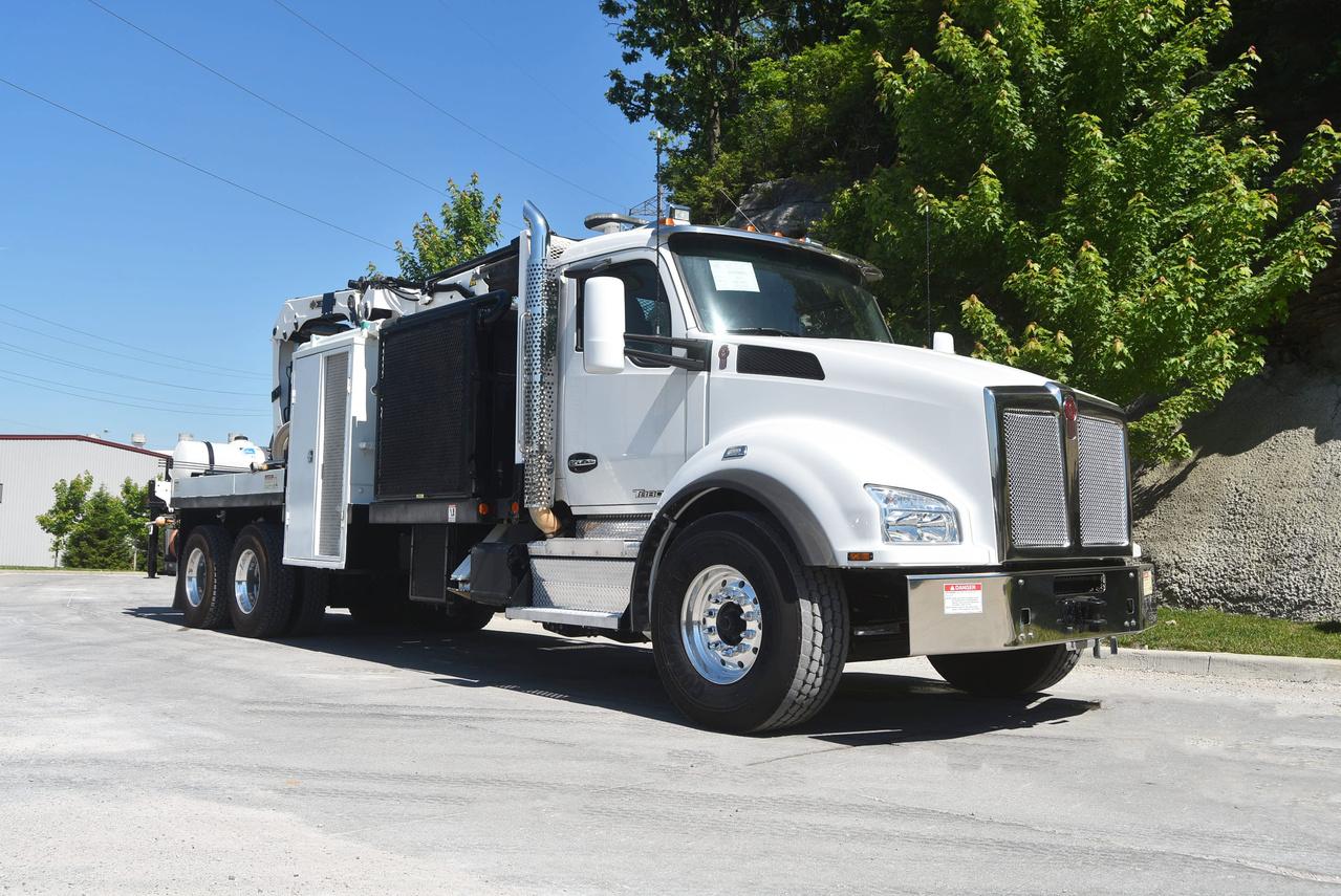 2018 Kenworth T880 6x4 IMT 20/138 K2 Hammer Drill Truck