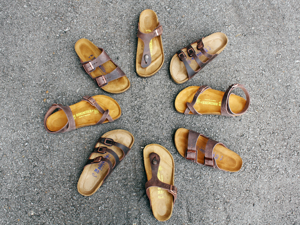 Birkenstocks, ranging from $89.95 to $135, at Alabama Outdoors