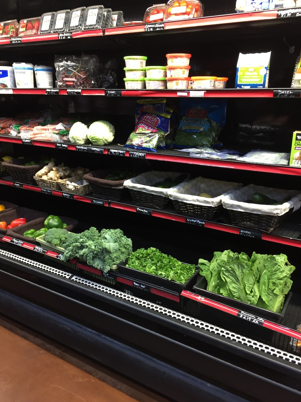 There are plenty of pantry staples, as well as fresh produce and grab-and-go options at both City Market locations.
