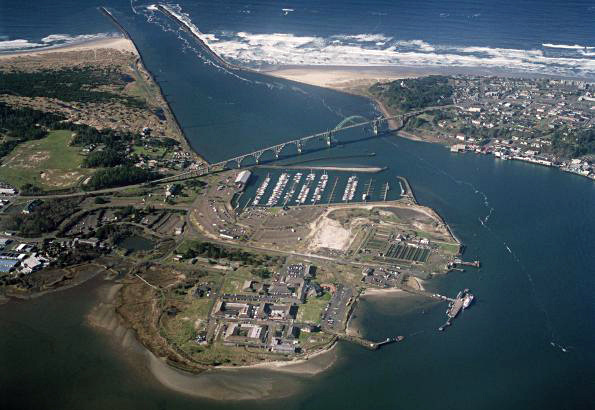 Oregon State University's Hatfield Marine Science Center in Newport, Oregon