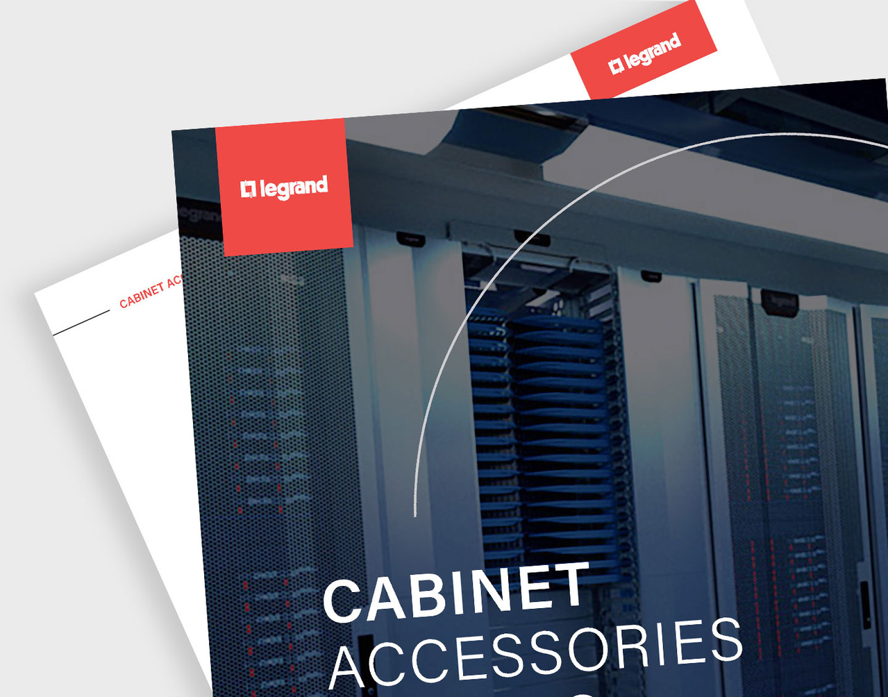 Screenshot of cabinets accessories catalog