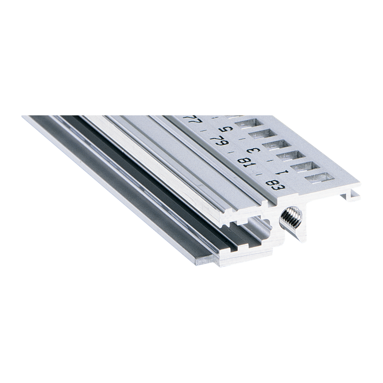 Image for Horizontal rail, front, type L-KD light, short lip from Schroff - North America